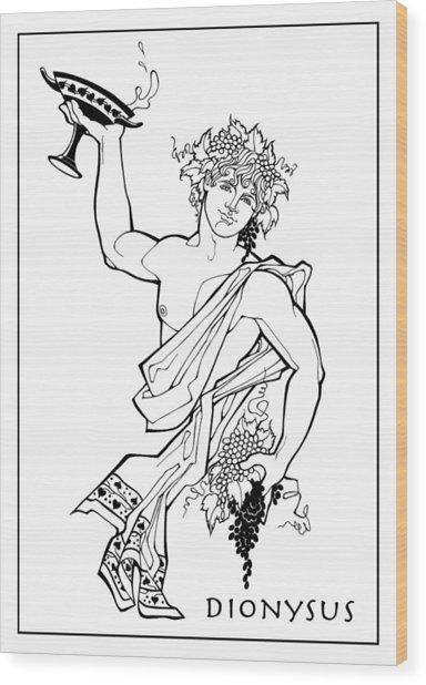 Dionysus Wood Print