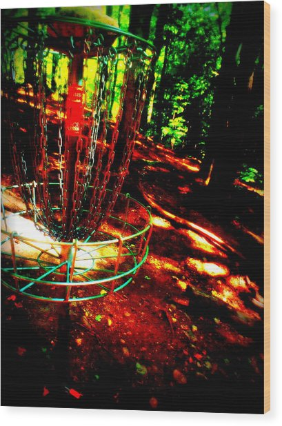 Discin Colors Wood Print