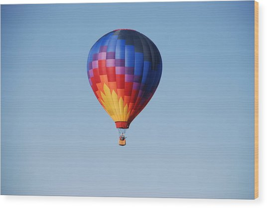 Disco Balloon  Wood Print by Miguelito B