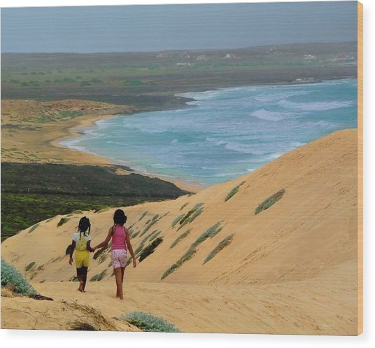 Discover Cape Verde Wood Print
