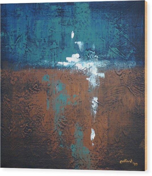 Disenchanted Wood Print