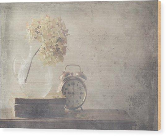 Disillusionment Of Nine Oa??clock Wood Print by Delphine Devos