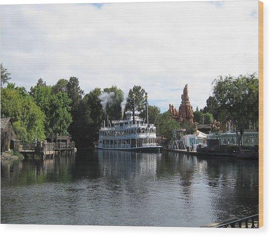 Disneyland Park Anaheim - 121212 Wood Print