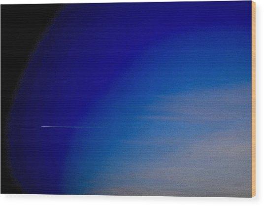 Distant Flight 5  Wood Print