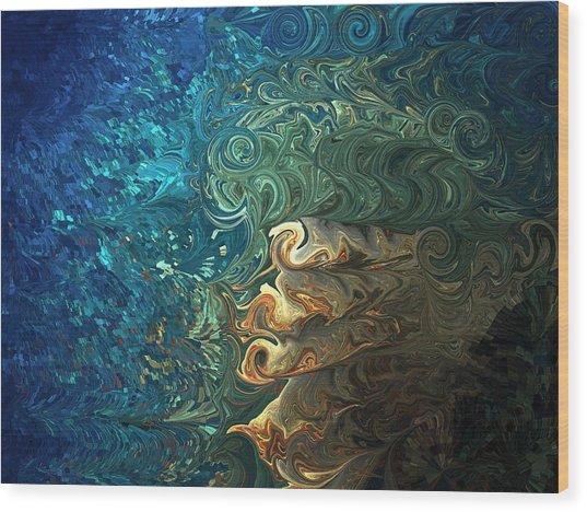 Dive Of Fireman's Wood Print