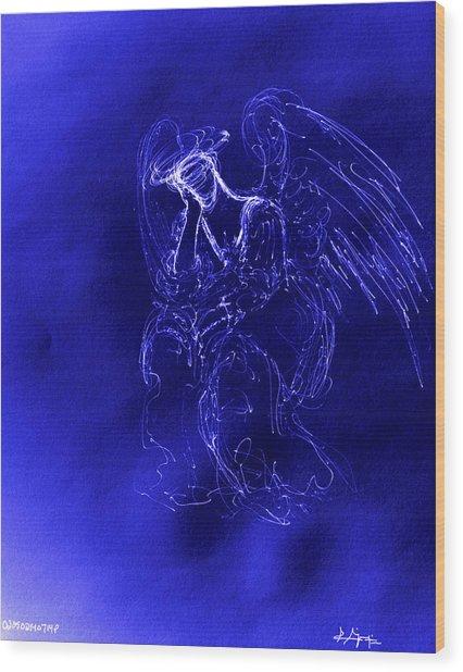 Divine Angel Wood Print