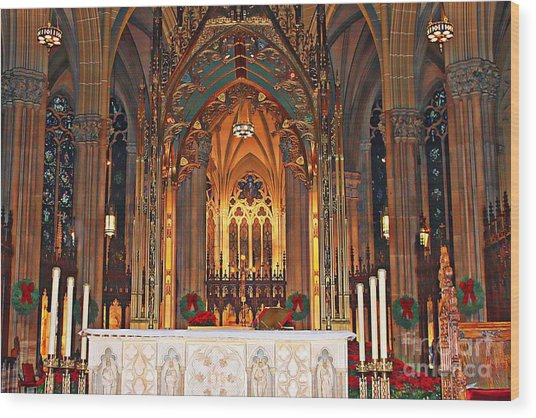 Divine Arches   Wood Print