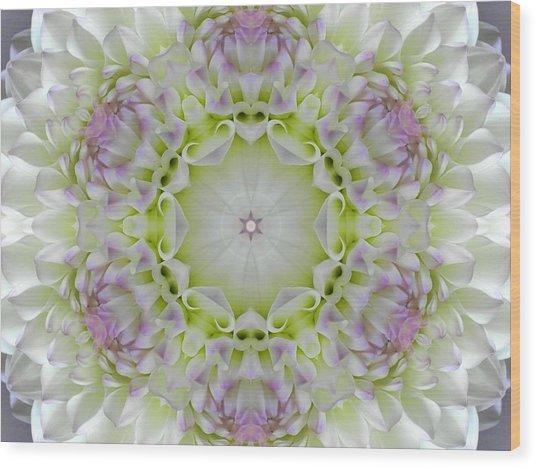 Divine Grace Mandala Wood Print