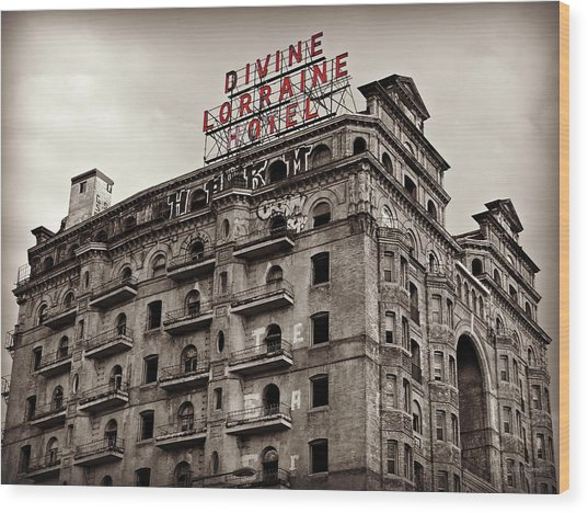 Divine Lorraine Wood Print