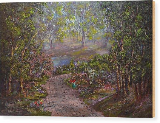 Divine Sunshine Wood Print