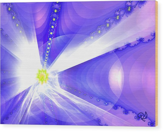 Divine Vision Wood Print