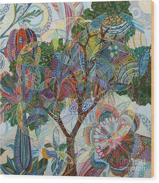 Divinitas Wood Print