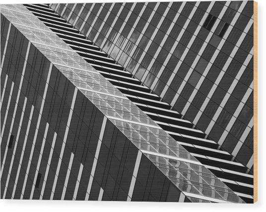 Dizzy Wood Print