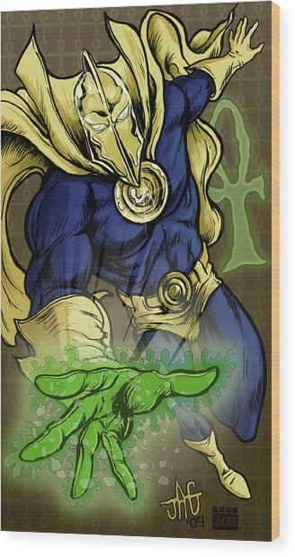 Doctor Fate Wood Print