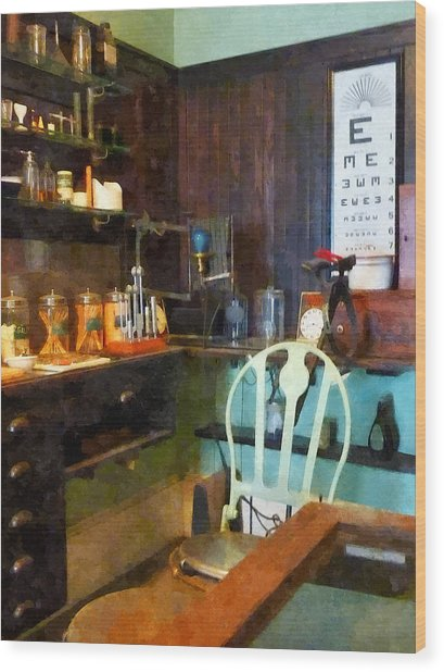 Doctor - Pediatrician's Office Wood Print