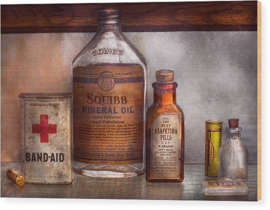 Doctor - Pharmacueticals  Wood Print