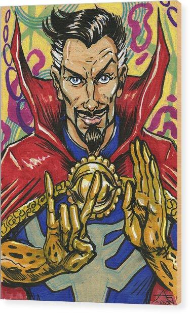 Doctor Strange Wood Print
