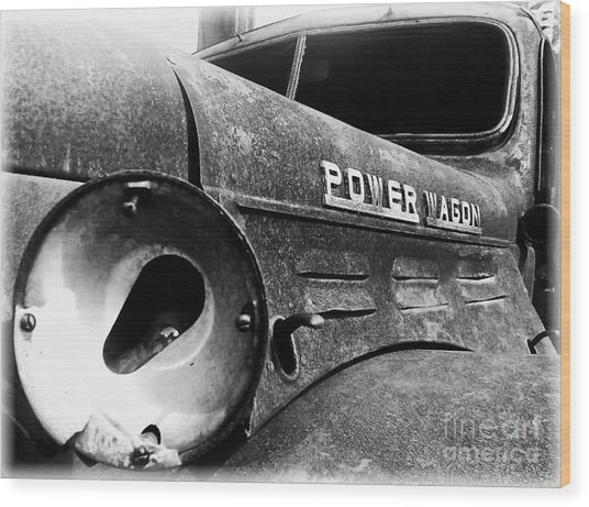 Dodge - Power Wagon 1 Wood Print
