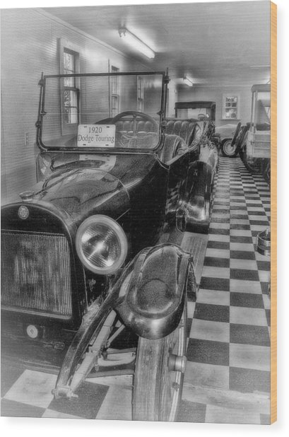 Dodge Touring Wood Print