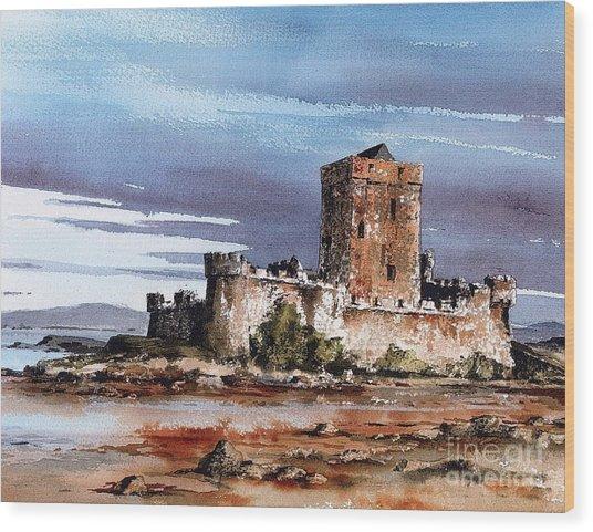 Donegal  Doe Castle Nr Creeslough  Wood Print