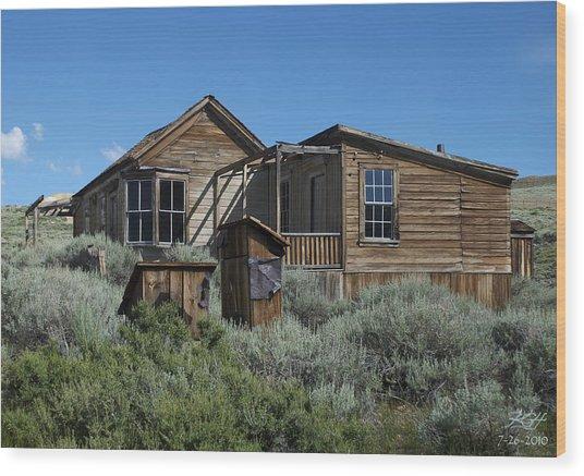 Dolan House East Wood Print