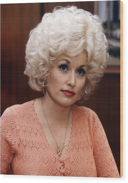Dolly Parton In Nine To Five  Wood Print
