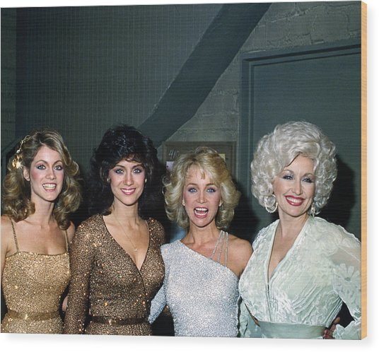 Dolly Parton Wood Print