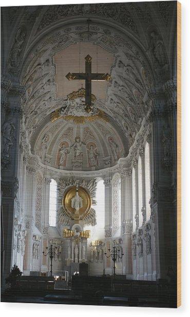 Dom Wurzburg Wood Print