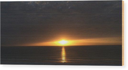 Don Cesar Penthouse Sunset 1 Wood Print