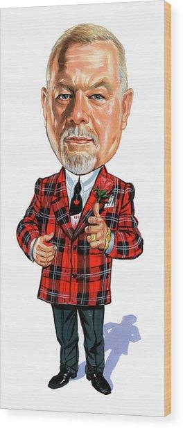 Don Cherry Wood Print