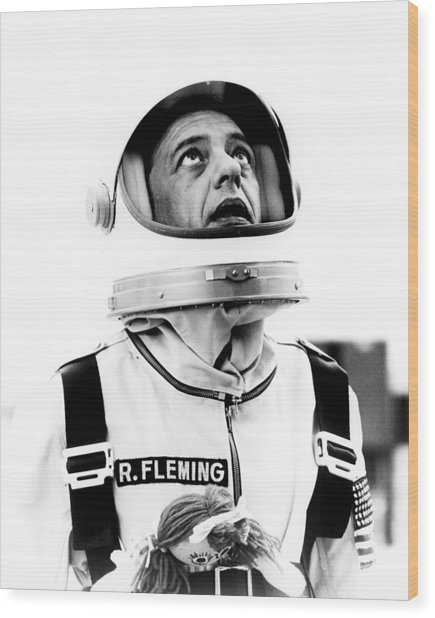 Don Knotts In The Reluctant Astronaut  Wood Print