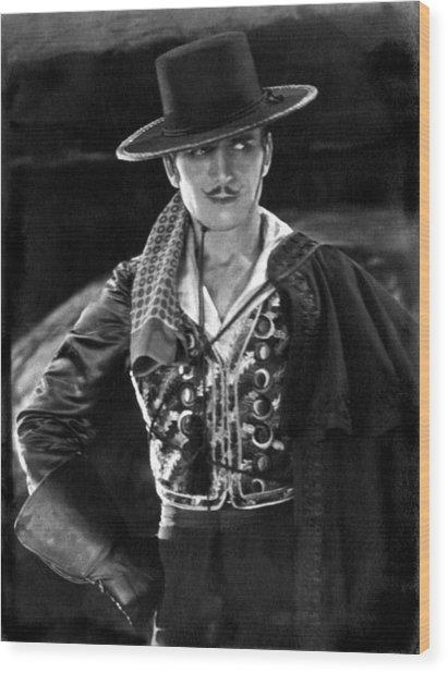 don Q Son Of Zorro Wood Print