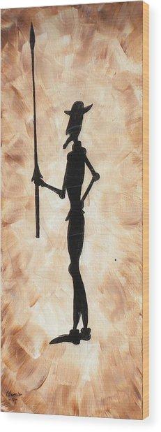 Don Quijote Wood Print