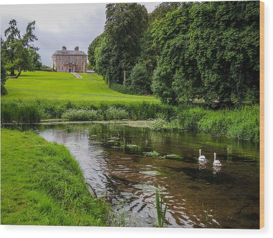 Doneraile Court Estate In County Cork Wood Print