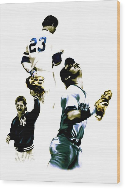 Donnie Baseball  Don Mattingly Wood Print