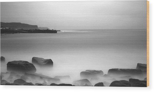 Doolin Pier Wood Print