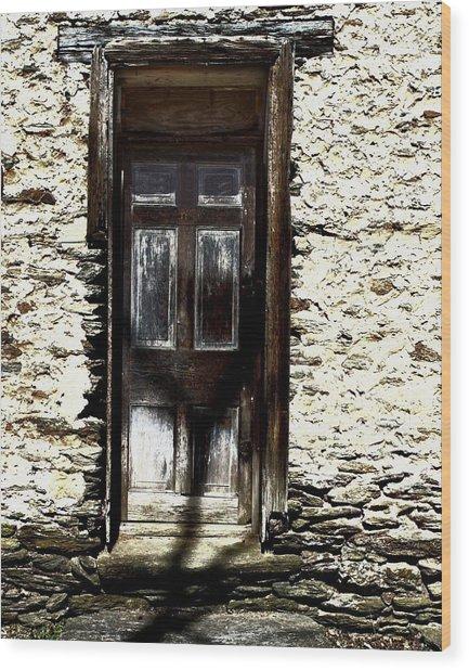 Door 3769 Wood Print