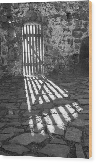 Door In The Sun Wood Print