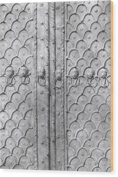 Door Of Past 2008  Wood Print