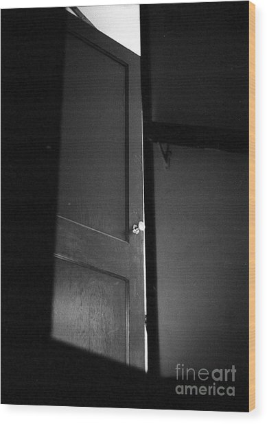 Door Wood Print