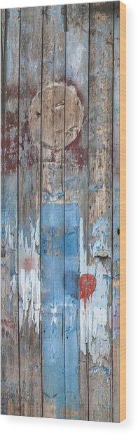 Door Study II Wood Print
