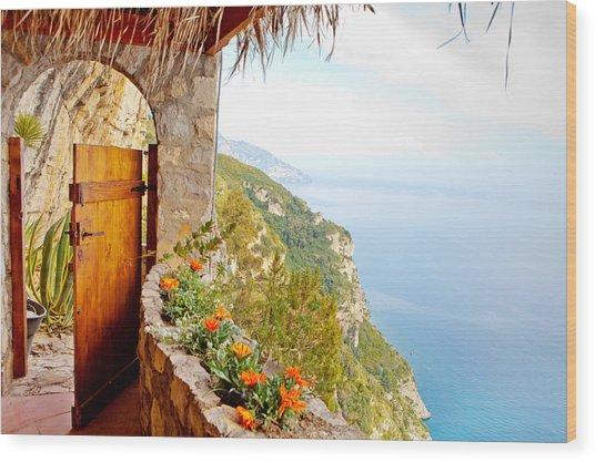 Door To Paradise Wood Print