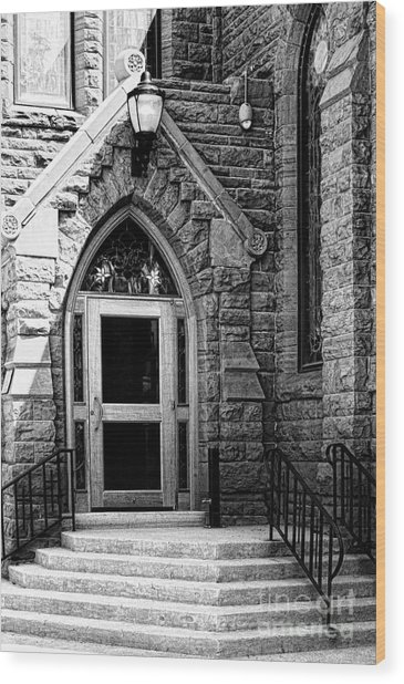 Door To Sanctuary Series Image 3 Of 4 Wood Print