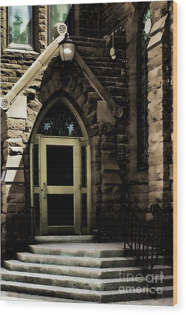 Door To Sanctuary Series Image 4 Of 4 Wood Print