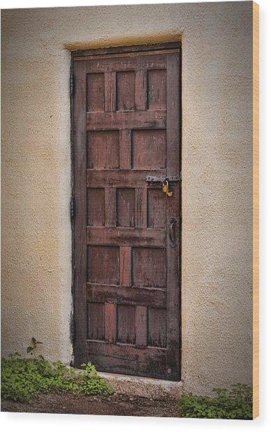 Door To Your Id ...  Wood Print