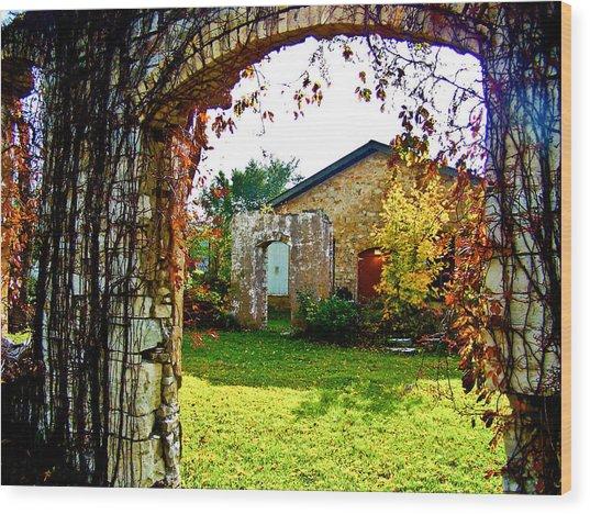 Doorways Wood Print