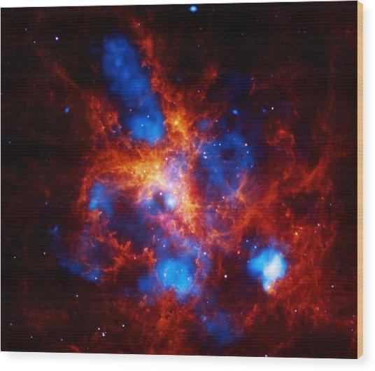 Doradus Nebula Wood Print