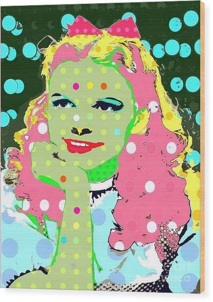 Dorothy Wood Print by Ricky Sencion