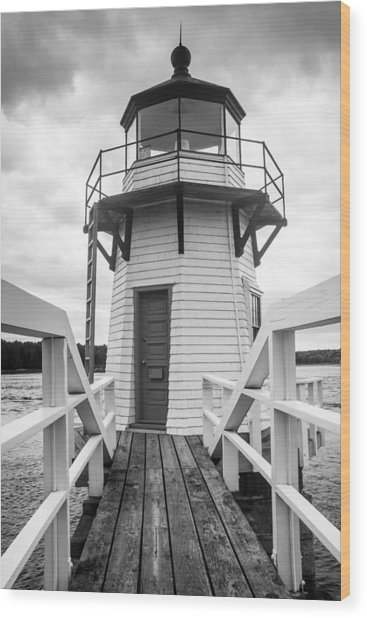 Doubling Point Light Wood Print