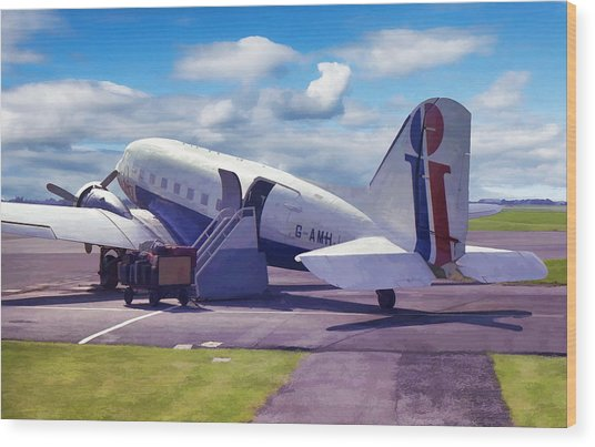 Douglas Dakota Dc3 Wood Print